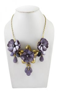 Adbeni Shell Flower Handcraft Necklace-adb-010