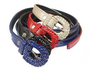 Gci Casual Stylish Ladies Polka Dot Belts