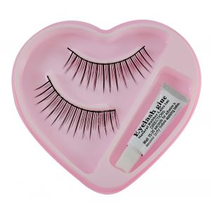 Bonjour False Eyelash With Rubber Band-ggr-(code - Bonj-gco-53j-003-elsh-lt32-fl)