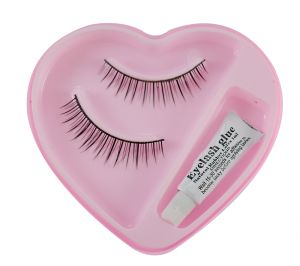 Bonjour False Eyelash With Rubber Band-ggo-(code - Bonj-gco-53j-006-elsh-lt32-fl)