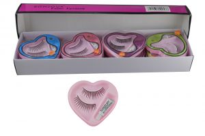 Bonjour False Eyelash Pack Of 12 Pcs-(code - Bonj-gco-53j-12psc-elsh-lt32-ws)