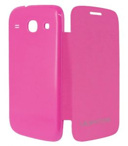 Gci Flip Cover For Samsung Galaxy Core (pink)