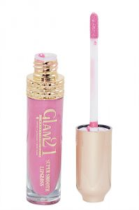 Glam 21 Super Smooth Lipgloss Silky Effect With Liner & Rubber Band -hrhh-b1-(code-gm-5355-b1-lpgl-lt28-m-eylnr-fl)