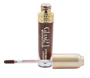 Glam 21 Super Smooth Lipgloss Silky Effect With Liner & Rubber Band -hrhh-d5-(code-gm-5355-d5-lpgl-lt28-m-eylnr-fl)