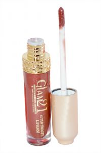 Glam 21 Super Smooth Lipgloss Silky Effect With Liner & Rubber Band -hrhh-f2-(code-gm-5355-f2-lpgl-lt28-m-eylnr-fl)