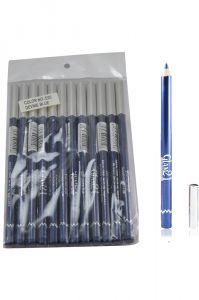 Glam 21 Blue Glimmersticks For Eyes & Lips Pack Of 12pcs- Gh-(code - Gm-e05-blu-12pcs-el-lt32-ws)