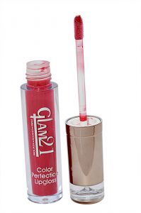 Glam 21 Color Perfection Lip Gloss With Liner & Rubber Band -rhp-c4-(code-gm-e351-c4-lpgl-lt28-m-eylnr-fl)