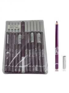Glam 21 Purple Glimmersticks For Eyes & Lips Pack Of 12pcs-gt-(code - Gm-l07-prpl-12pcs-el-lt31-ws)