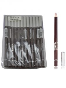 Glam 21 Brown Glimmersticks For Eyes & Lips Pack Of 12pcs-ga-(code - Gm-l08-brw-12pcs-el-lt32-ws)