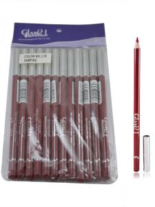 Glam 21 Red Glimmersticks For Eyes & Lips Pack Of 12pcs-po-(code - Gm-l16-red-12pcs-el-lt31-ws)