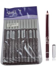 Glam 21 Purple Glimmersticks For Eyes & Lips Pack Of 12pcs-uh-(code - Gm-l25-brw-12pcs-el-lt32-ws)