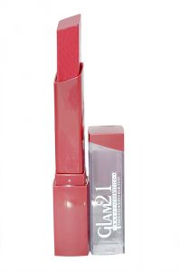 Cosmetics - Glam 21 Lipstick With Liner & Rubber Band - Rpaa-S15-(Code-GM-S3188-S15-LPSK-LT28-M-Eylnr-FL)