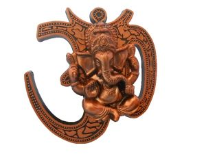 Gci Brown Metal Ganesh Hanging