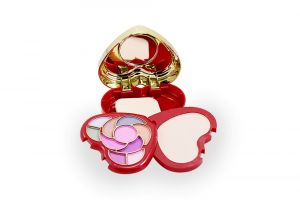 Kiss Beauty Rose Bengal Make Up Kit Free Liner & Rubber Band-amut (code - 8927-mkt-lt26-m-eylnr-fl)