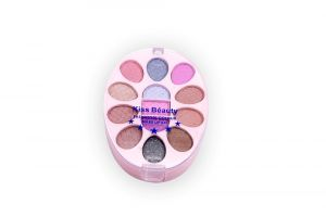 Kiss Beauty Fashion Colour Make Up Kit Free Liner & Rubber Band-mups (code - 9214-mkt-lt26-m-eylnr-fl)