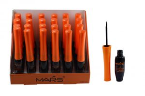 Mars Liquid & Waterproof Eyeliner Pack Of 24 Pcs-hgrr-(code - Mrs-mk5033-24pcs-eylnr-lt32-ws)