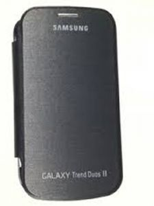 Gci Flip Cover For Samsung Galaxy Trend Duos2 (black)