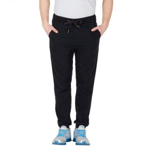 Hypernation Black Color Casual Pants For Men
