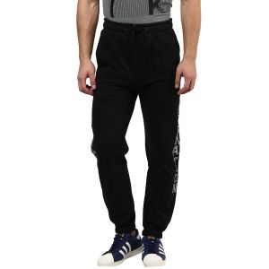 Hypernation Black Cotton Track Pants