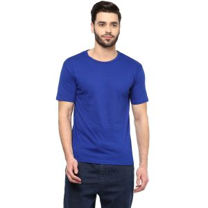 Hypernation Solid Men Round Neck T-shirt_hypm0665