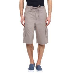 Shorts (Men's) - Hypernation Solid Men Three Fourths_HYPM0699