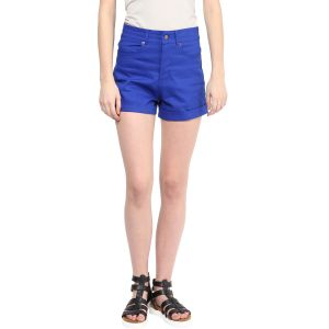 Hypernation Solid Women's Chino Shorts_HYPM0710