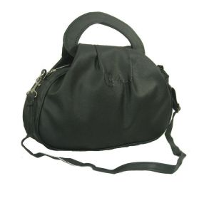 Estoss Black Hand-purse Cum Sling Bag For Womens