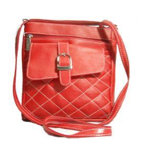Estoss Women's Clothing - Estoss Red Designer Sling Bag