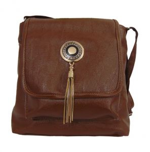 Handbags - Estoss MEST5702 Brown Sling Bag