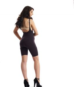 Swee Velvet Black Color Full Body Shaper