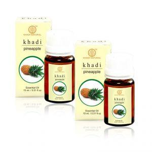 Khadi Skin Care - Khadi Natural Pineapple Essential Oil - 15ml (set Of 2) (code - 2000201510923740)