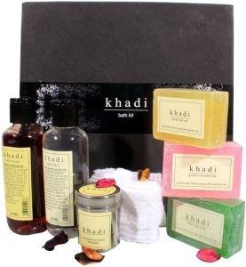 Cosmetics - Khadi Bath Kit (Set of 7)