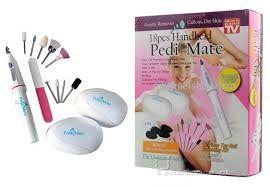 Body Care - 18pcs Handheld Pedi Mate/ Pedi Mate / Pedicure Set /manicure Set/ Callus Remover,for Smooth,beautiful Feet.