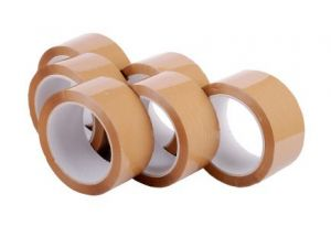 "Bopp 3""wide X 170mtrs Self Adhesive Packaging Brown Cello Tape (pack Of 2)"