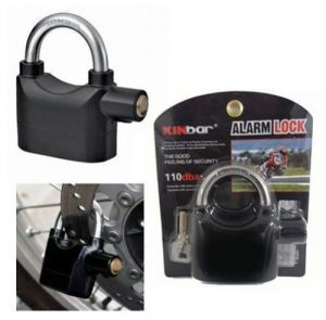 Door Locks, Bolts - Anti Theft Motion Sensor Alarm Lock For Home, Office And Bikes