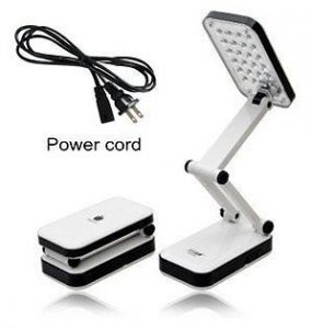 Table lamps - Rechargeable LED Emergency Table Lamp White
