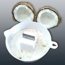 Kitchen Utilities (Misc) - Coconut Breaker Shell Cracker With Water Collect