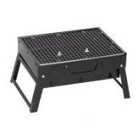 Barbeques & grills - Portable Briefcase Style Folding Barbecue Grill Toaster Barbeque