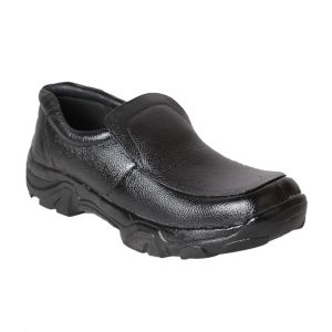 Footwear - Leather Soft Genuine Leather Casual Black Shoes - (Code -LS-AWD-01-BK)