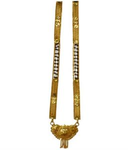 Sondagar Arts Gold Traditional Mangalsutra