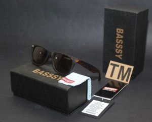 Basssy Sunglasses Brown Tiger Frame Polarized Sunglasses