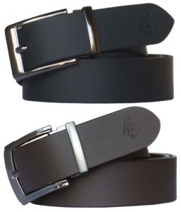 Sondagar Arts Formal Black Leather Belt, Brown Leather Belt For Men Combo