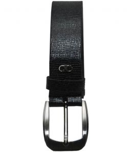 Sondagar Arts Italian Leather Black Mens Belt_sab01