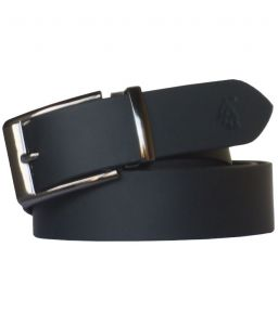 "Sondagar Arts Black Leather Formal Men""s Belt Code-sab100"