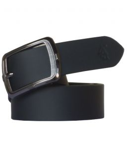 "Sondagar Arts Black Leather Formal Men""s Belt Code-sab101"