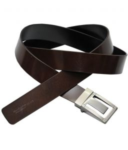 Sondagar Arts Italian Leather Black And Brown Mens Belt_sab10