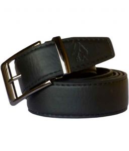 Sondagar Arts Black Formal Genuine Leather Belts For Men
