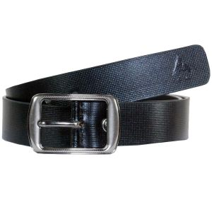 Sondagar Arts Formal Black Genuine Leather Belt For Mens -sab169