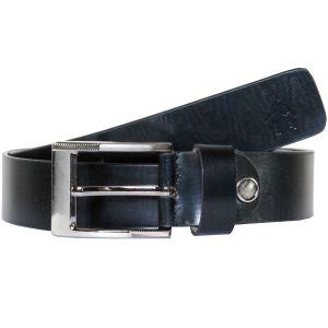 Sondagar Arts Formal Black Genuine Leather Belt For Mens -sab170