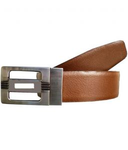 Sondagar Arts Italian Leather Black And Brown Mens Belt_sab42
